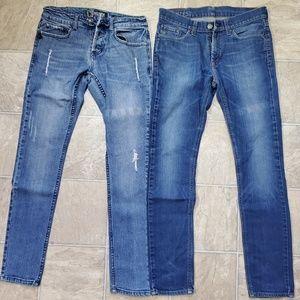 2 Men's jeans 30/32